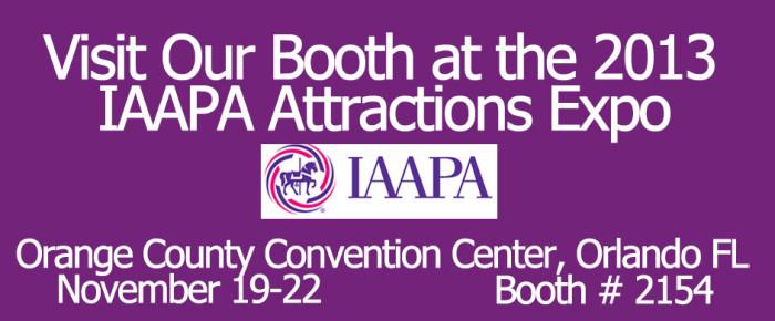 IAAPA 2013 Booth #2154